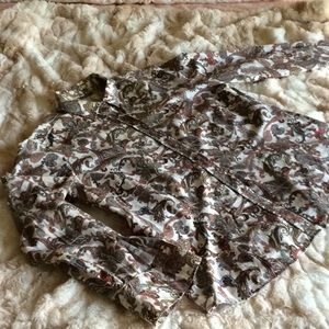 Paisley patterned cotton shirt